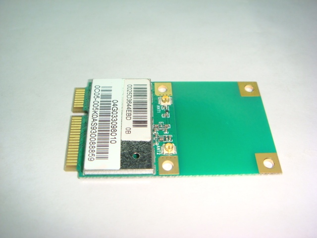 ASUS X5DC 802.11 B/G/N MINI PCI-E WIRELESS MODULE 04G033098010