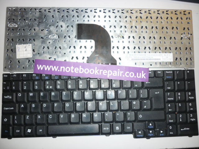 EASYNOTE MX35/MX37/MX45/MX65/MX66/MX67 uk keyboard