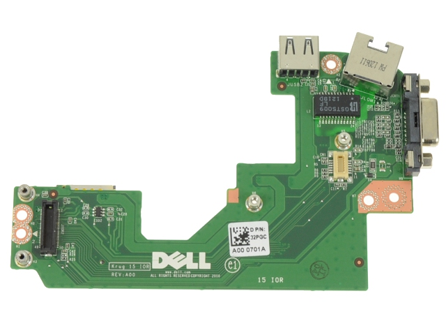 E5520 vga/net/ usb card
