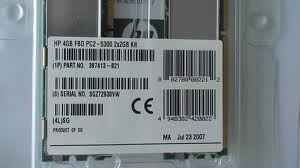 397415-b21 8GB upgrade (2x4G)