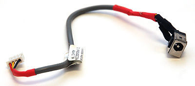 DC JACK ON CABLE P/N 410323-001