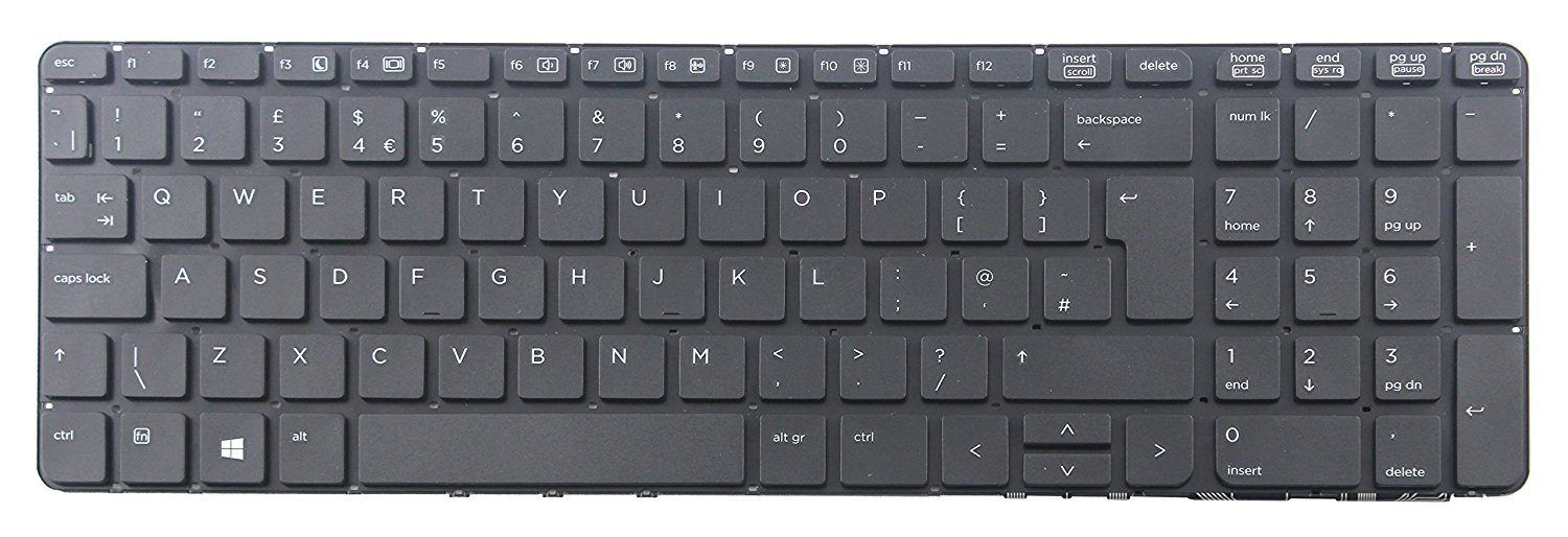 HP 450G1 Keyboard