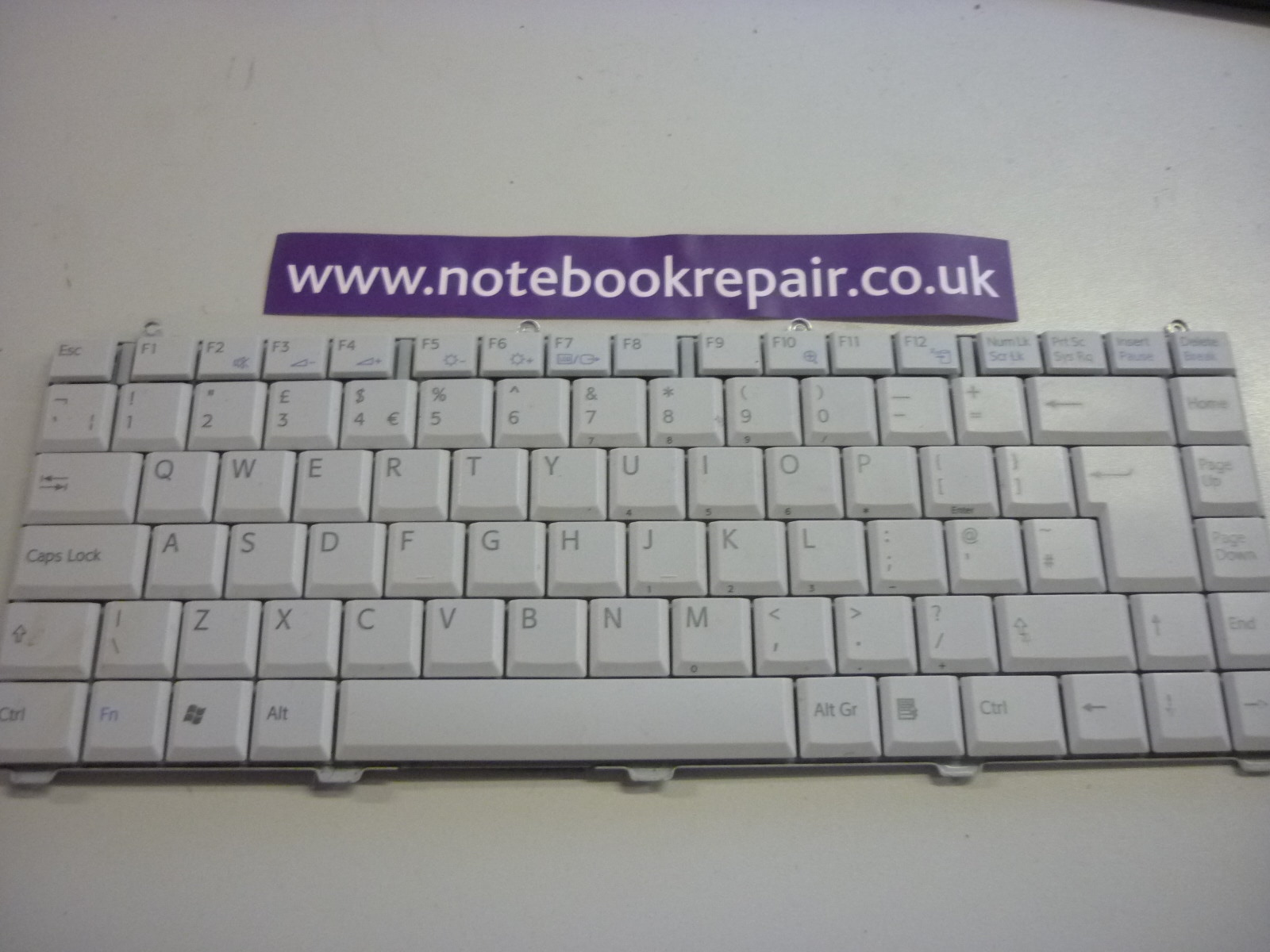 VGN-FS115S KEYBOARD UK A-479-154-11
