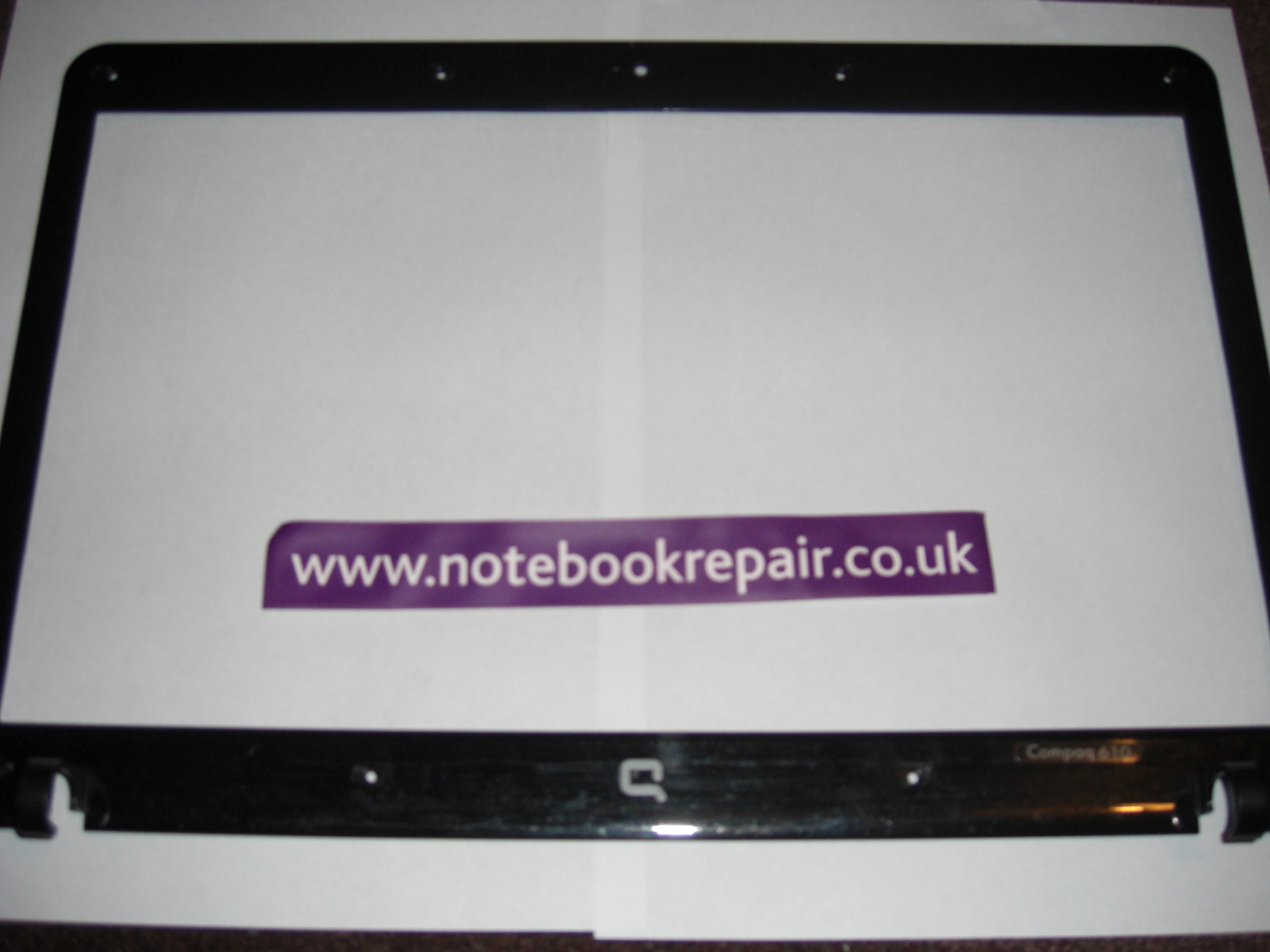 COMPAQ 610 FRONT LCD COVER 538428-001