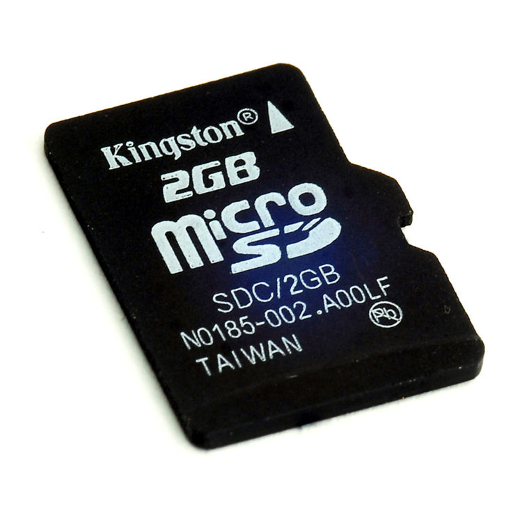 2GB Micro SD Card - DT074