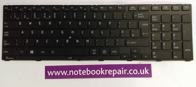 Toshiba Tecra R950 R960 Keyboard UK
