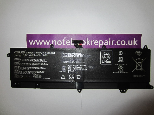 ASUS Li-POLYMER C21-X202 (X20PY23) LAPTOP BATTERY