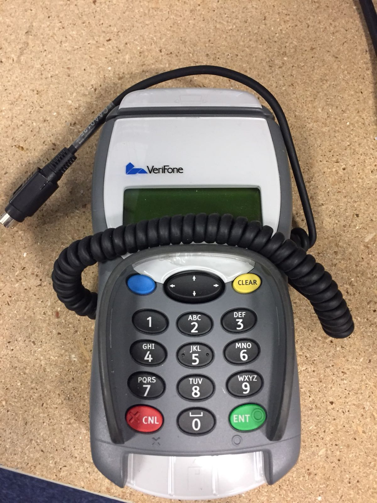 VERIFONE XLPP 979 CHIP AND PIN CARD READER