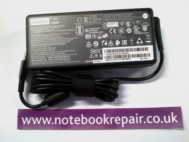 Lenovo 20W 135V AC Adapter Charger
