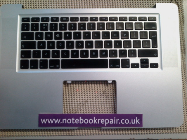 Apple Macbook Pro A1286 Late 2011 Palmrest with Keyboard