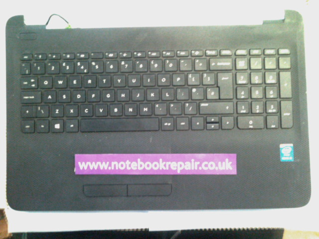 HP 250 G4 PALMREST WITH TOUCHPAD AND KEYBOARD