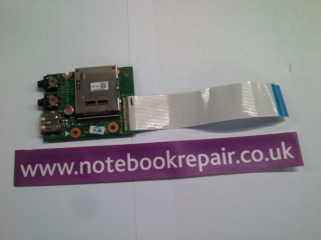 LENOVO IDEAPAD Z580 USB AUDIO AND SD CARD PORT BOARD