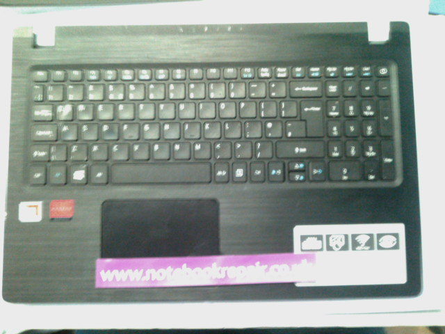 ACER ASPIRE 3 A315 PALMREST WITH TOUCHPAD AND KEYBOARD