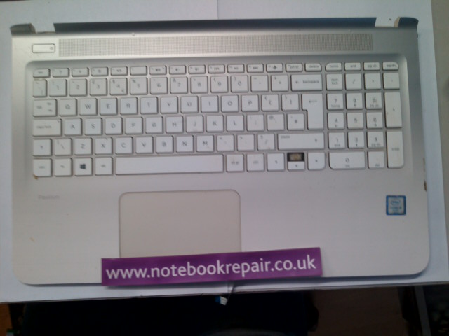HP PAVILION 15-AB254SA PALMREST WITH KEYBOARD AND TRACKPAD