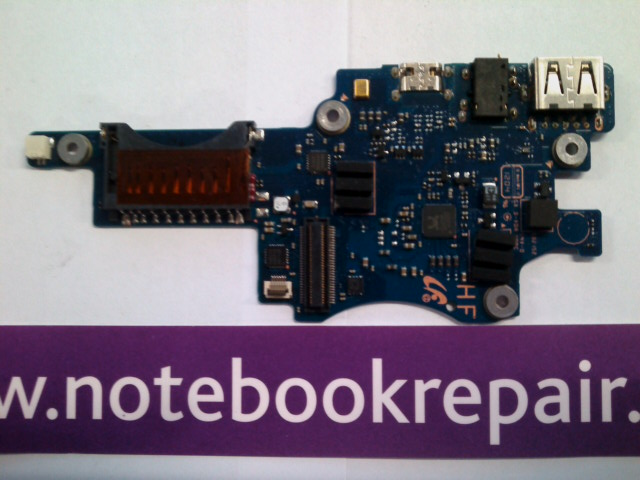 SAMSUNG NP900X3B CARD READER AUDIO AND USB BOARD
