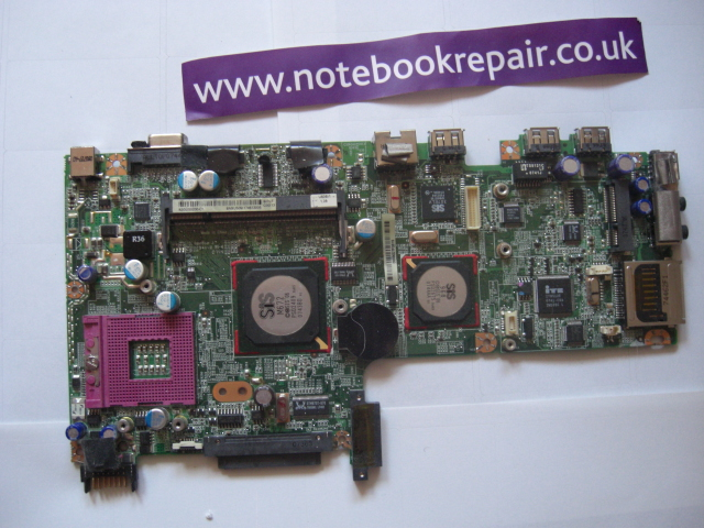 GATEWAY W340UA SYSTEM BOARD REPAIR
