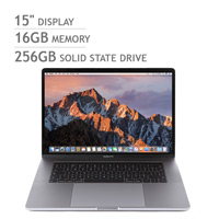 Apple MacBook Pro Retina with Touch Bar Silver i7 16GB 256GB