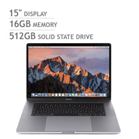 Apple MacBook Pro Retina with Touch Bar Silver i7 16GB 512GB