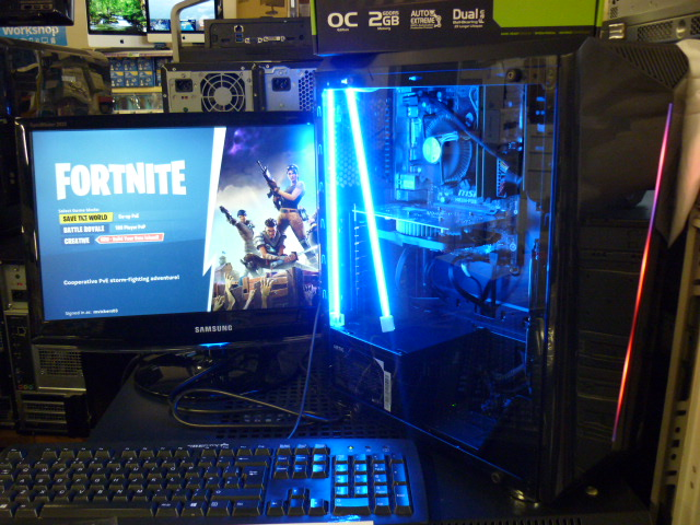 NBR I3 Gaming PC ideal for playing Fortnite