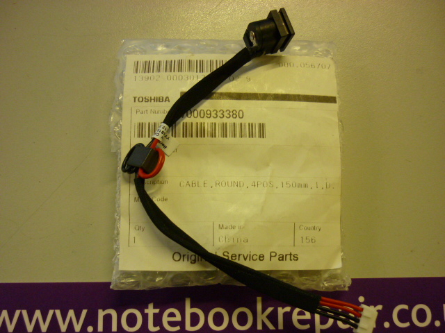 Toshiba Satellite L300/305 DC-in harness