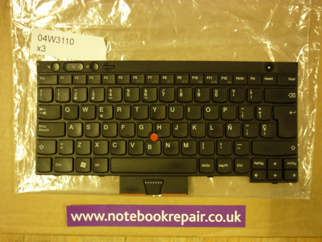 Lenovo X220 Spanish Keyboard Refurbished