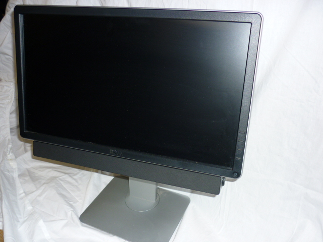 "Dell 20"" Widescreen Height Adjustable Monitor with Soundbar Refu"