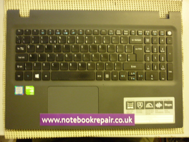 ACER ASPIRE E5-574 PALMREST TOUCHPAD AND UK KEYBOARD