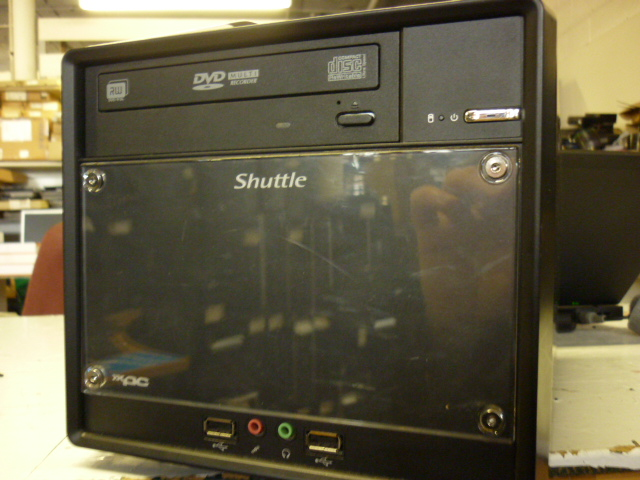 Shuttle Cube XPC Mini H TPC Refurbished