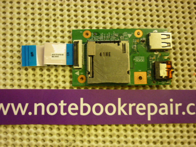 LENOVO B590 USB AND AUDIO JACK BOARD WITH CABLE