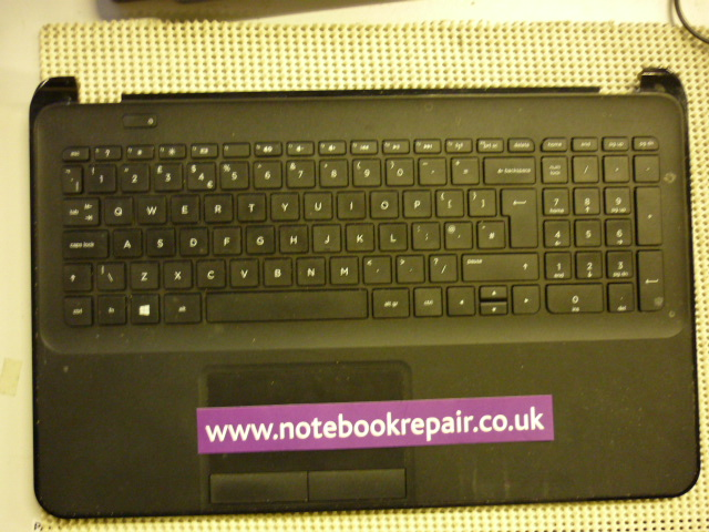 HP 255 G2 PALMREST WITH TOUCHPAD AND KEYBOARD