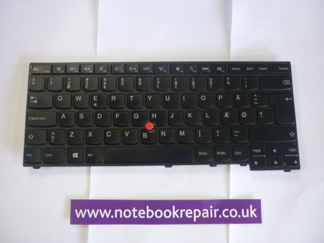 Danish Lenovo T440 keyboard