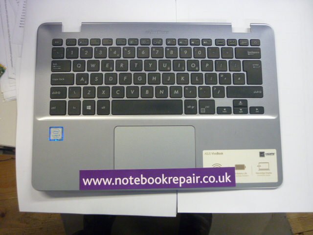 x405u uk keyboard with palmrest