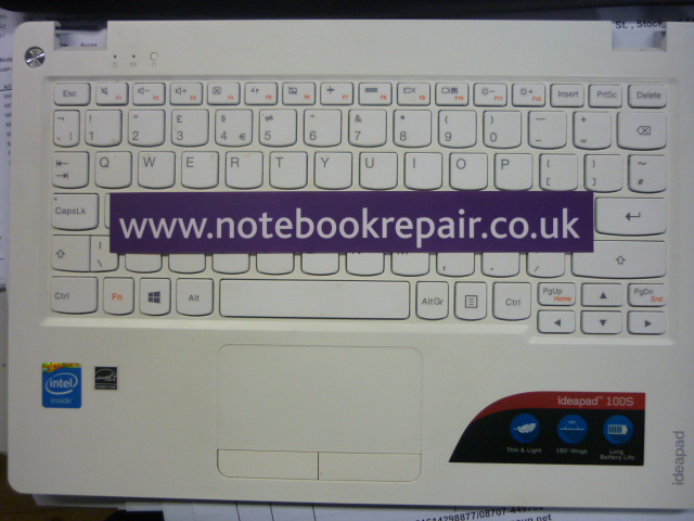 ideapad 100s uk keyboard / palmrest