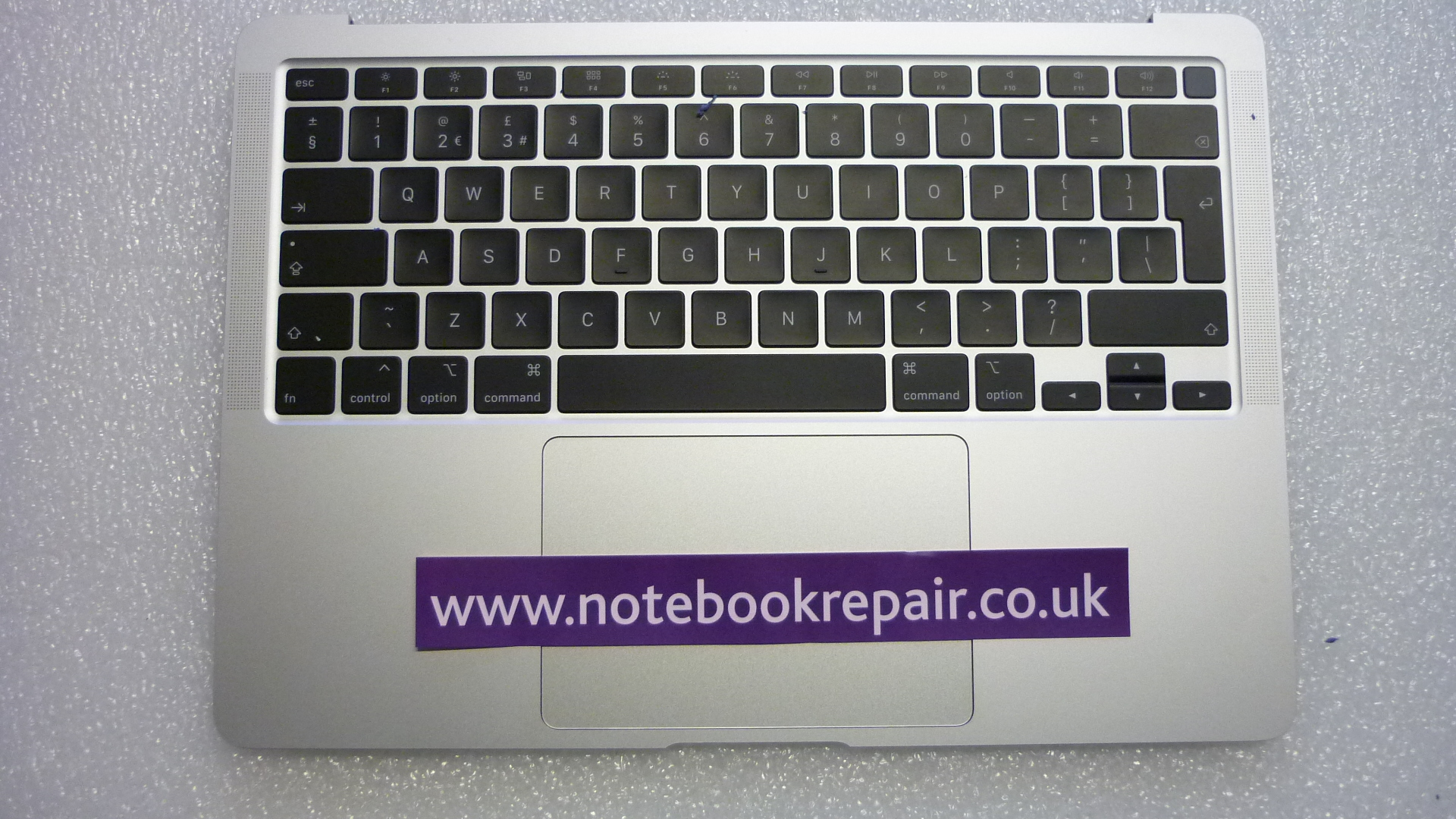 "Macbook Air 13"" A2179 Topcase Palmrest UK Silver"
