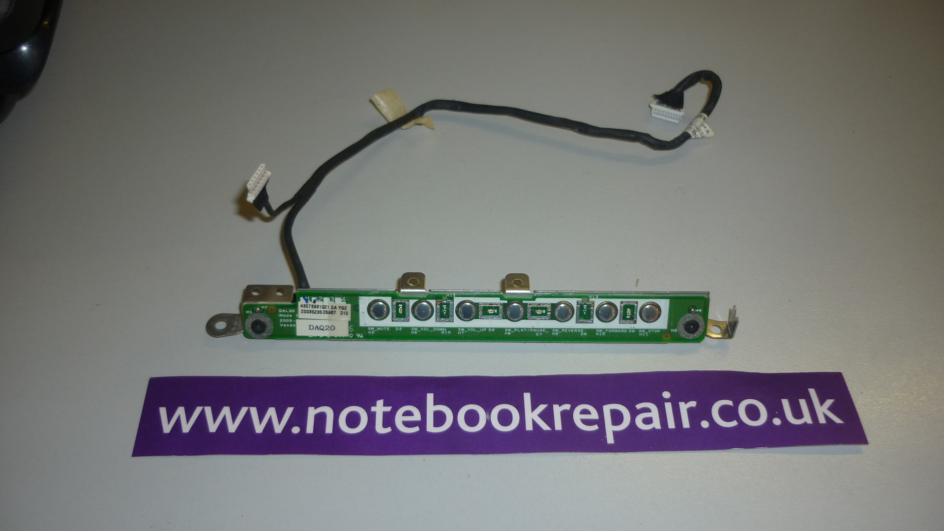 XPS M170 BUTTON BOARD AND CABLE LS