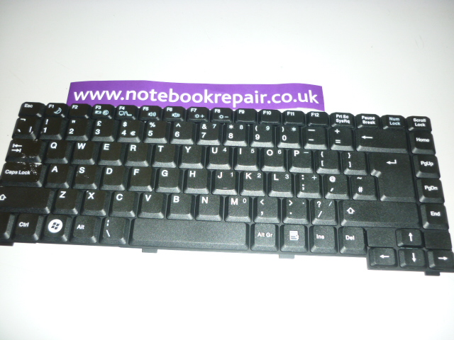 ADVENT 6411 7204 KEYBOARD UK 71GL71084-00