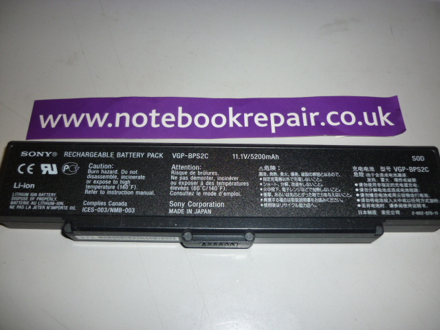 SONY PCG-6Q1M BATTERY 11.1V 175663421
