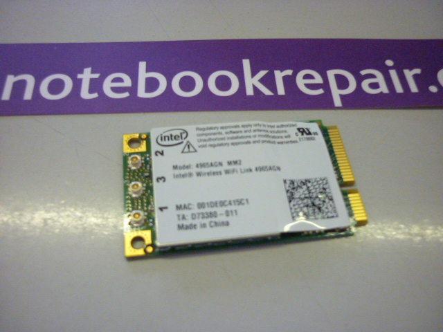 LIFEBOOK P8010 WIRELESS CARD 4965AGN
