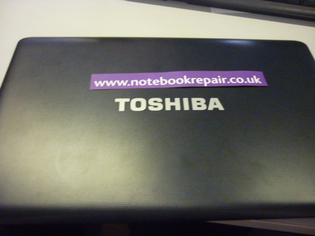 Toshiba Satellite Pro C650-18D LCD top cover