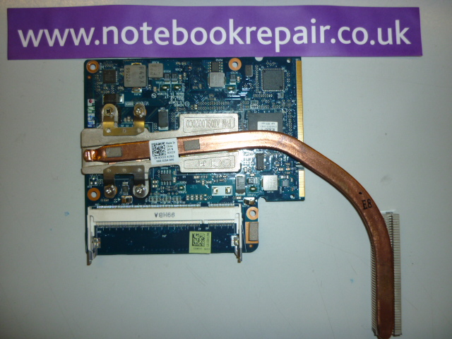 Dell Inspiron 11z system board and heat sync