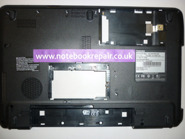 Toshiba Satellite C650 -15C Bottom cover