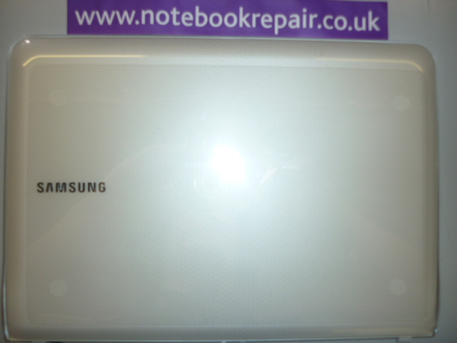 Samsung N210 Top LCD cover white