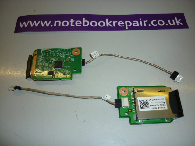 Inspiron N5010 card reader board with cable