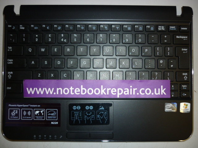 BA75-02430A  N220 Series Palmrest + Keyboard BA75-02430A