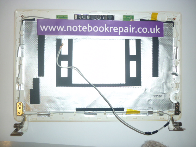 samsung n150 lcd front cover ba75-02708j