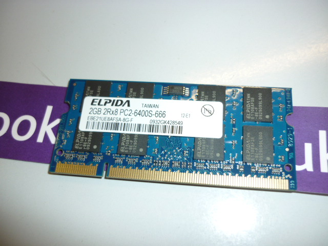 2G DDR2 SO DIMM PC6400 800m