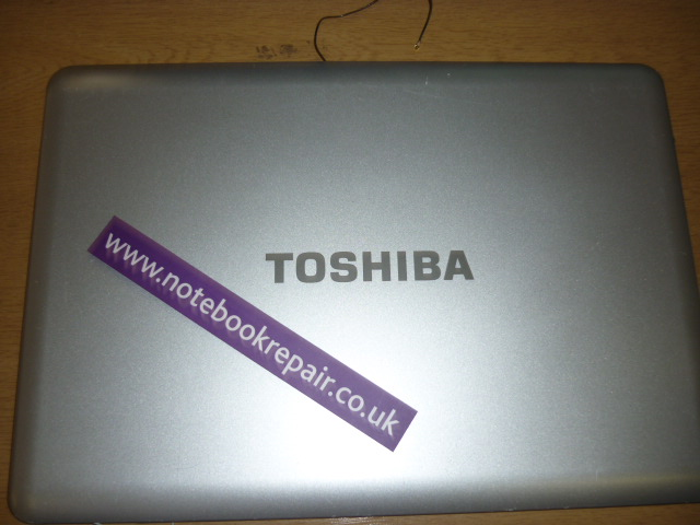 Toshiba Satellite Screen Back Plastic cover