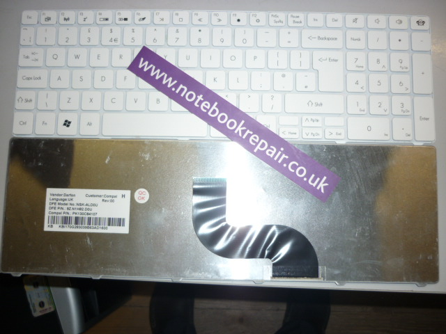 KB.I170G.055 NEW TM80 LM86 TK37 UK keyboard