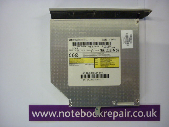 HP 483864-001 / 483864-002 DVD±RW Laptop SATA Drive - Serial ATA