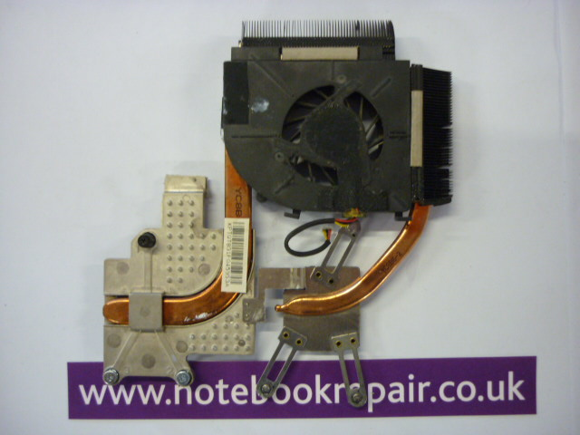 New HP Pavilion DV5-1000 CPU FAN 493001-001 & Heatsink